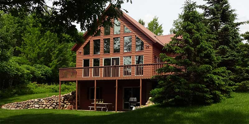 cabin northern in for john wilake sale project kraemer sons wisconsin cabins wi